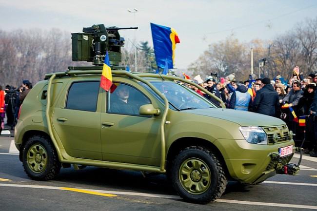 Dacia Duster став військовим кросовером