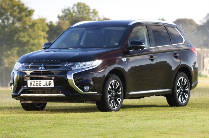 У Великобританії дебютував новий Mitsubishi Outlander