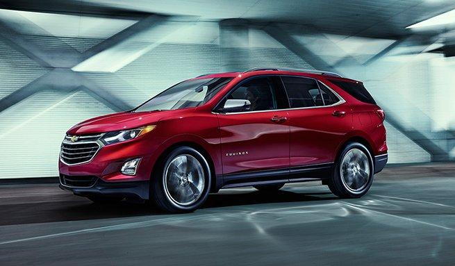 Chevrolet показала новий позашляховик Equinox