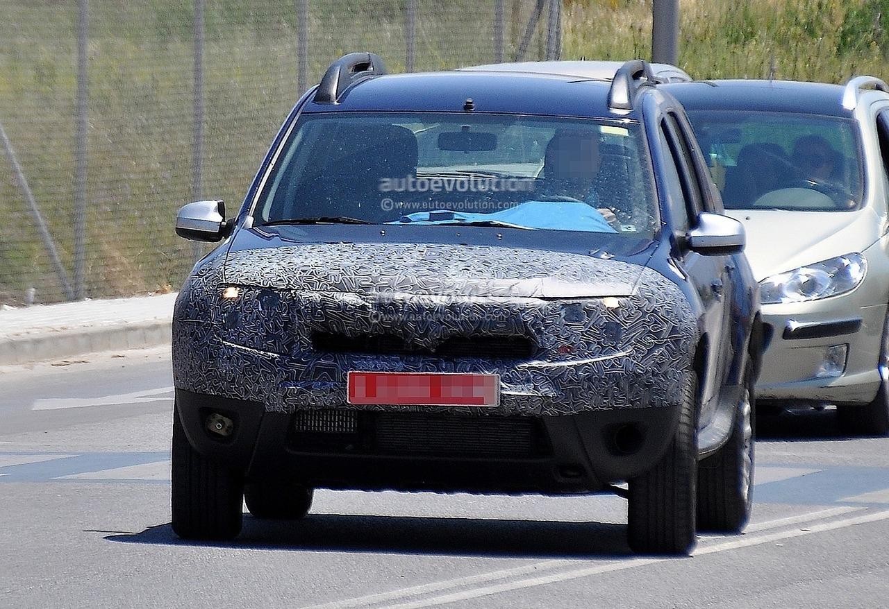 Новий Dacia Duster проходить тести