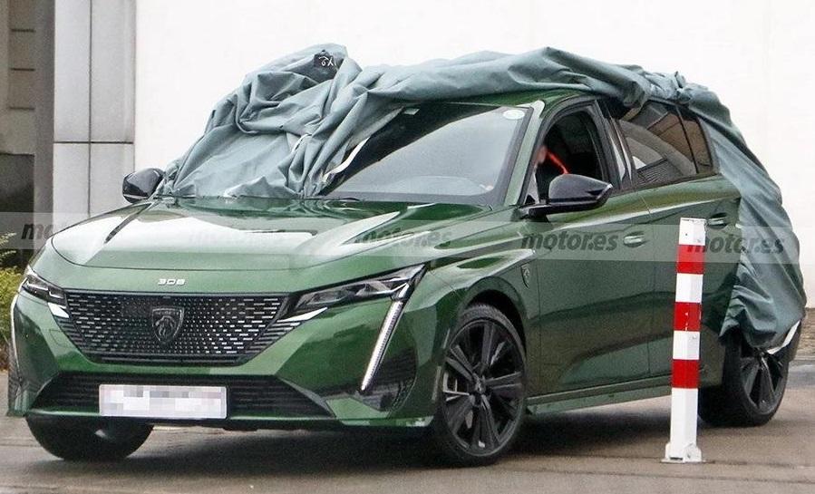 Peugeot 308: розкрито зовнішність нового покоління (ФОТО)