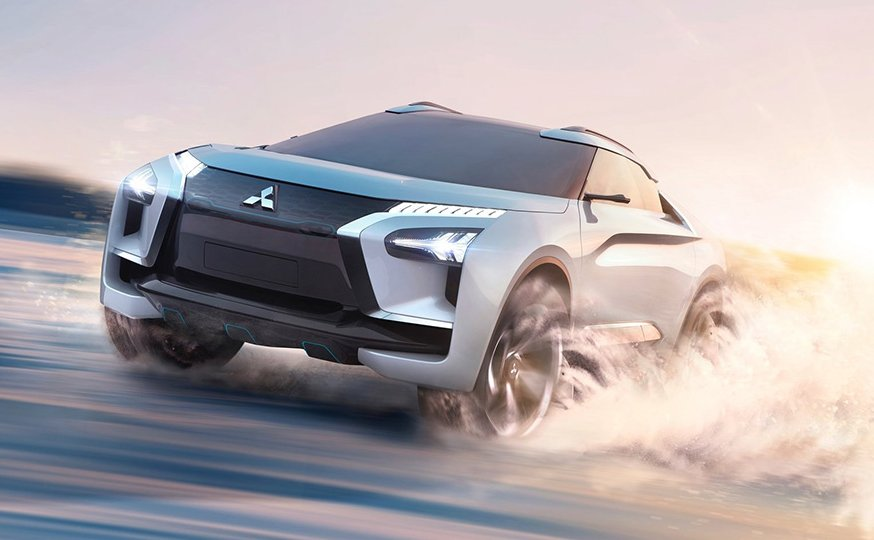 Mitsubishi e-Evolution: компанія показала електричне