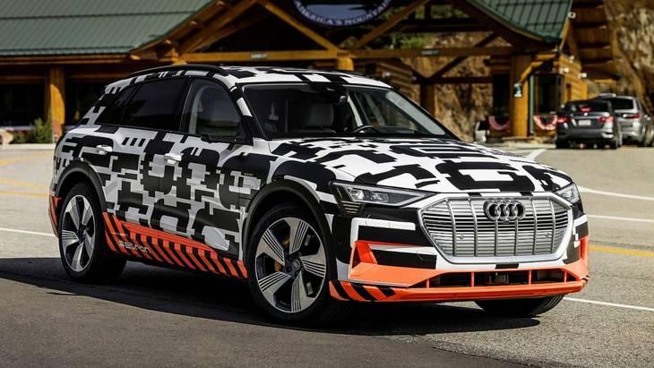 Розкрито технічні характеристики нового електрокара E-Tron від Audi