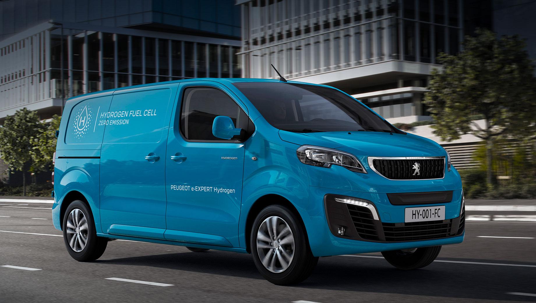 Водневий Peugeot e-Expert виходить на ринок