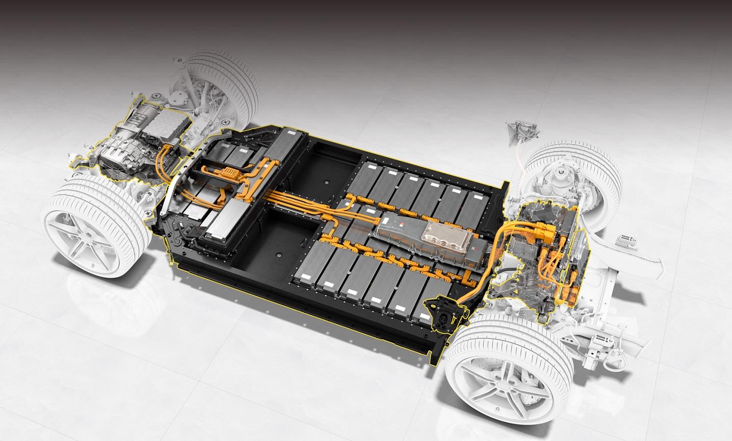 Porsche готує потужні та ємні батареї з кремнієм