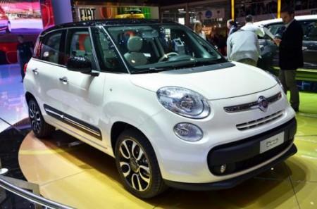 Ціна на Fiat 500L розпочнеться від 15,550 євро