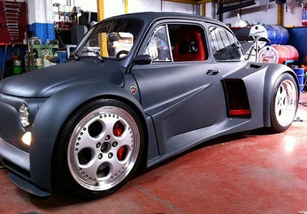 Fiat 500 отримав двигун Lamborghini