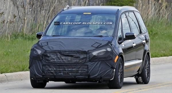 Ford Galaxy нового покоління