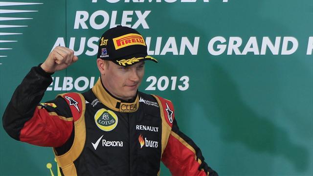Формула-1: двадцята перемога Кімі Райкконена