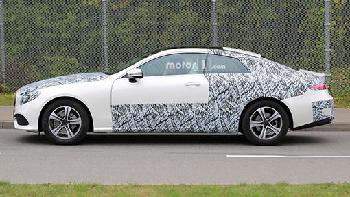 Перші зображення нового Mercedes-Benz E-Class