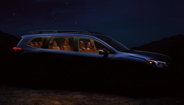 Офіційний тизер семимісного позашляховика Subaru Ascent