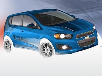 Компанія Chevrolet підготувала хетчбек Aveo для гонок