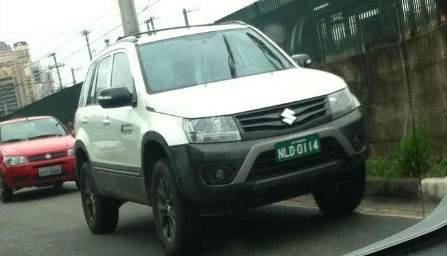 Новий Suzuki Grand Vitara проходить тестування