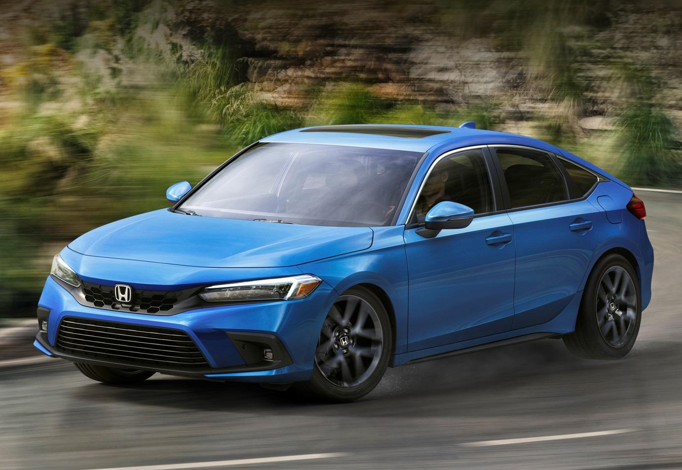 Хетчбек Honda Civic 2021: два мотори та варіатор чи автомат на вибір