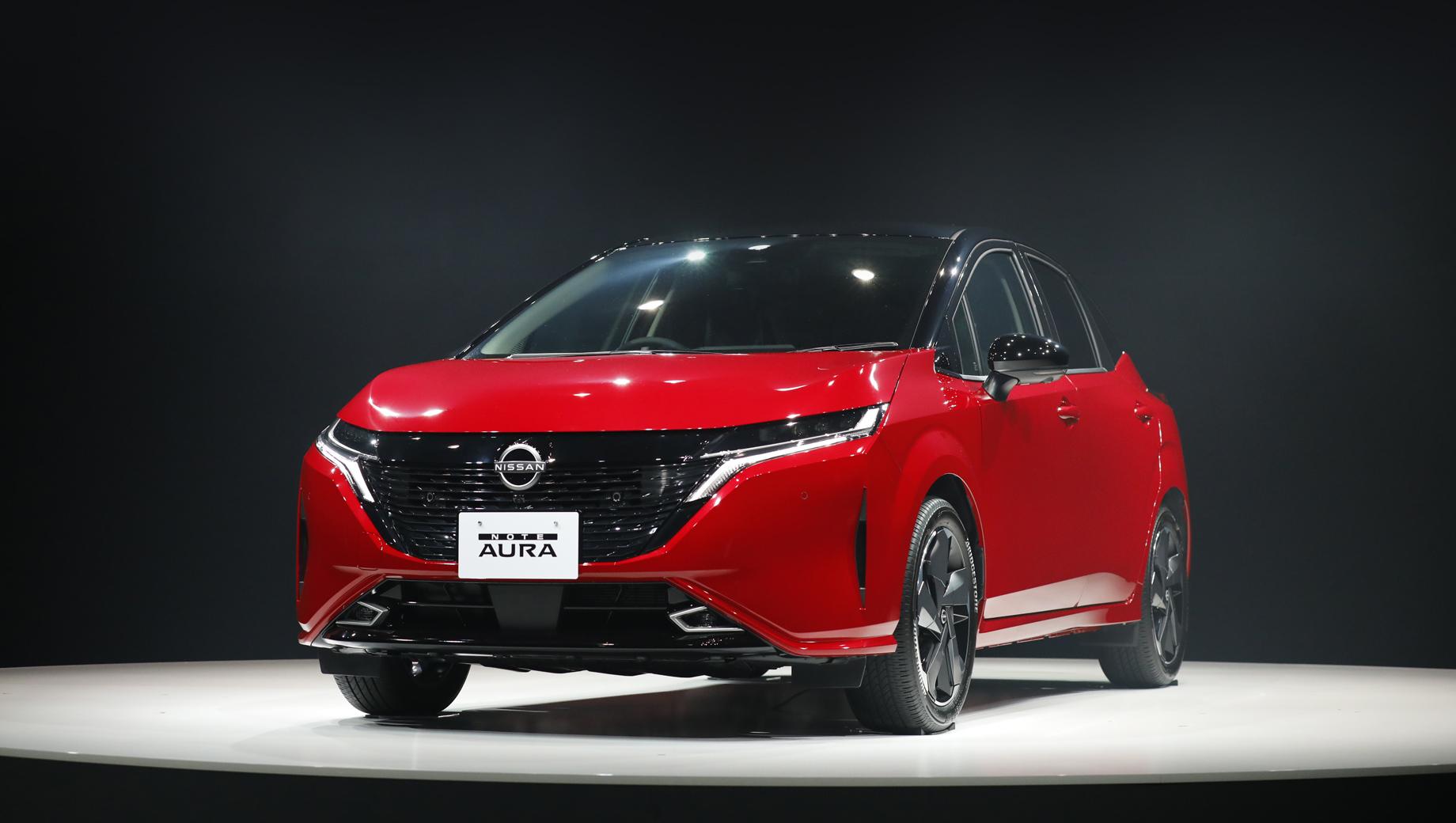 Хетчбек Nissan Note Aura: що відомо?
