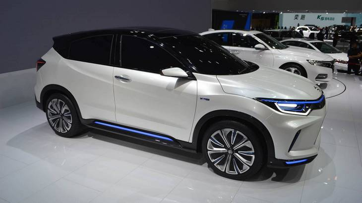 Honda випустить електричний кросовер базі HR-V