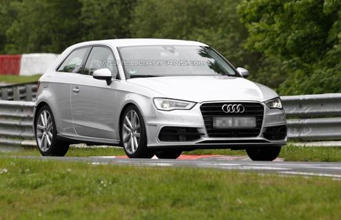 Хот-хетч Audi S3 вже проходить випробування