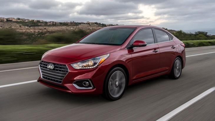 Hyundai озвучив ціни седана Accent 2018