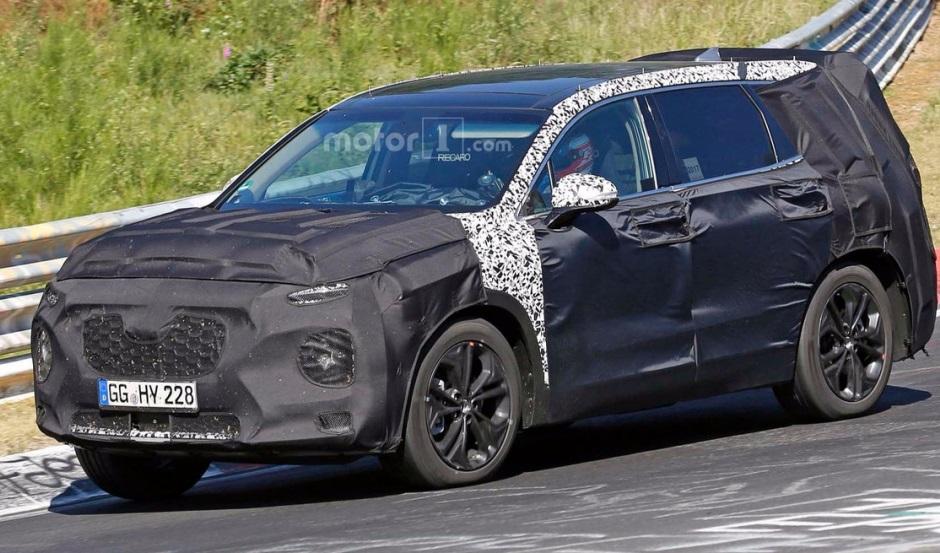 Hyundai Santa Fe 2020: перші зображення нового покоління кросовера