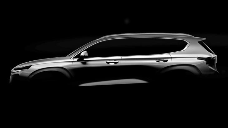 Hyundai Santa Fe нового покоління дебютував на офіційному зображенні
