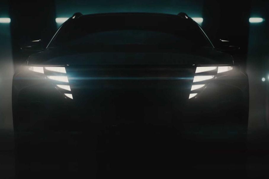 Hyundai Tucson 2021 показали на відео