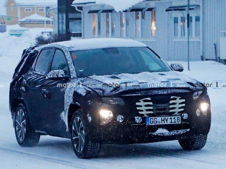 Наступне покоління Hyundai Tucson проходить дорожні випробування