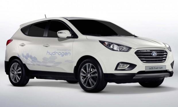 Компанія Hyundai запустить у серію водневий ix35