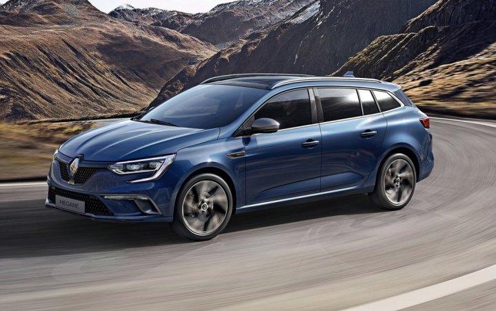 Новий універсал Renault Megane розсекречений офіційно