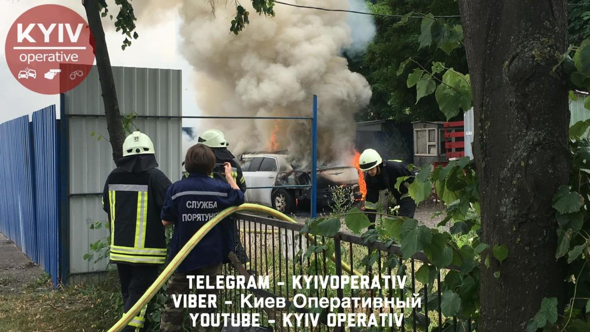 Підрив автомобіля в Києві: остання інформація