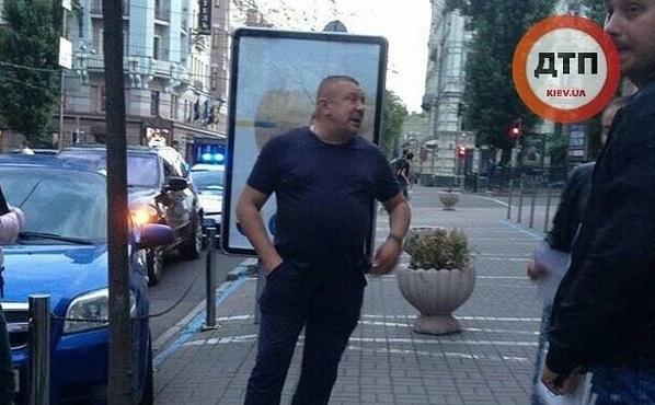 У Києві п'яний