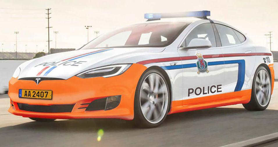 Поліція отримає електромобілі Tesla