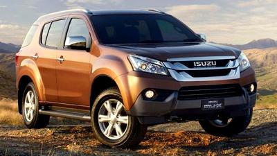 Isuzu представила новий позашляховик MU-X