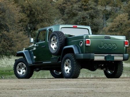 Jeep перетвориться на вантажівку