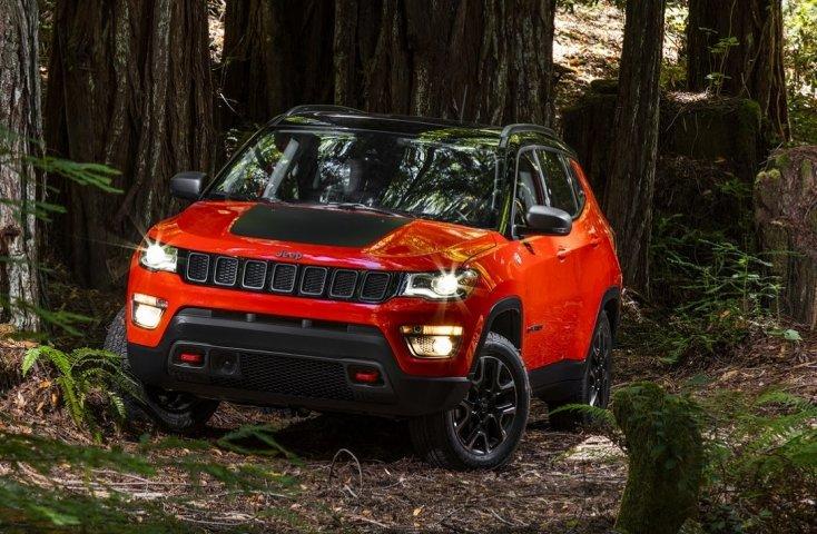Jeep Compass 2017 розсекречено офіційно