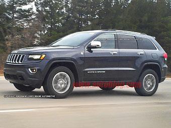 Jeep Grand Cherokee 2013 - перші зображення