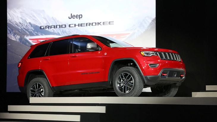 Новий Jeep Grand Cherokee розсекречено