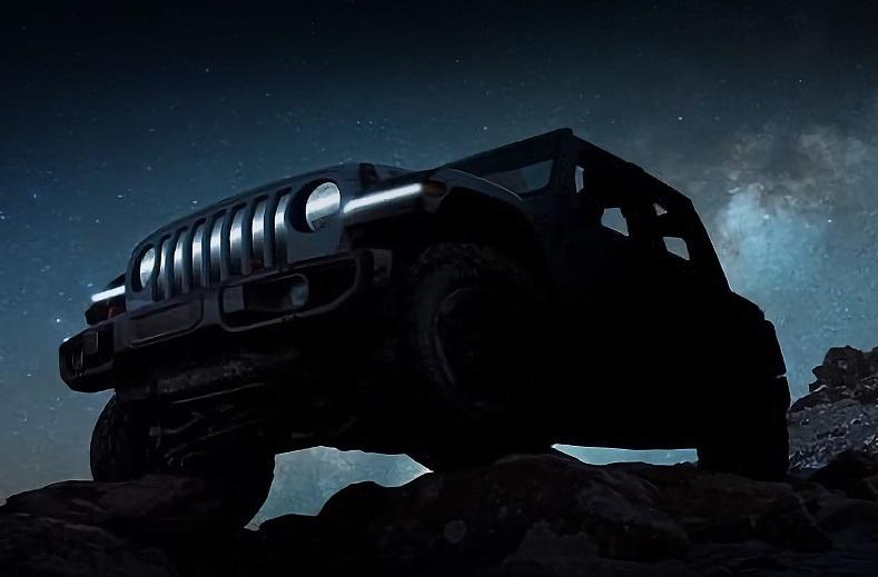 Jeep Wrangler: тепер і електромобіль