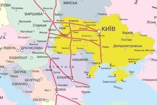 В Україні пройде новий європейський автобан