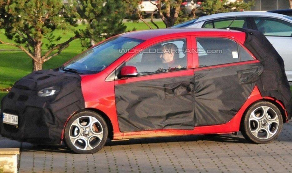 Kia Picanto 2017: перше зображення та інформація
