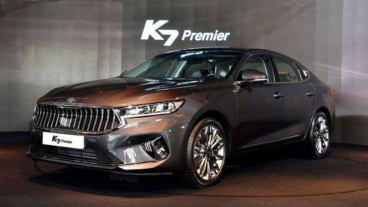 Kia представила оновлений седан K7