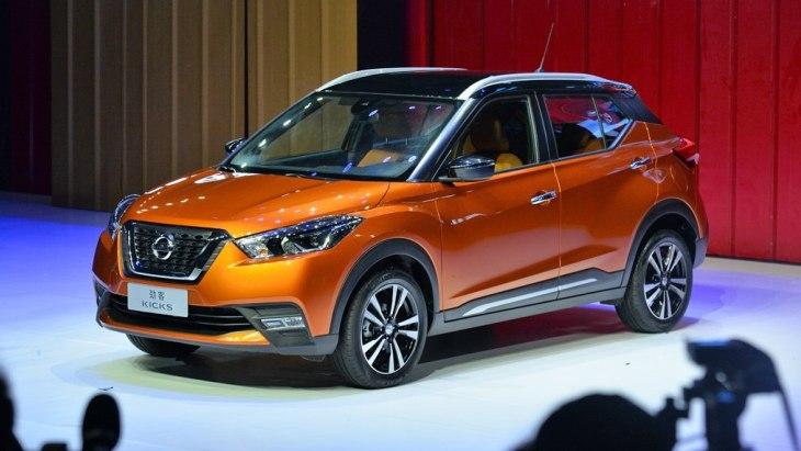 Nissan Kicks: новий кросовер виходить на ринок