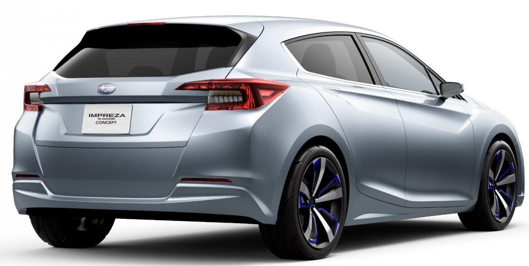 Subaru показала нову Impreza