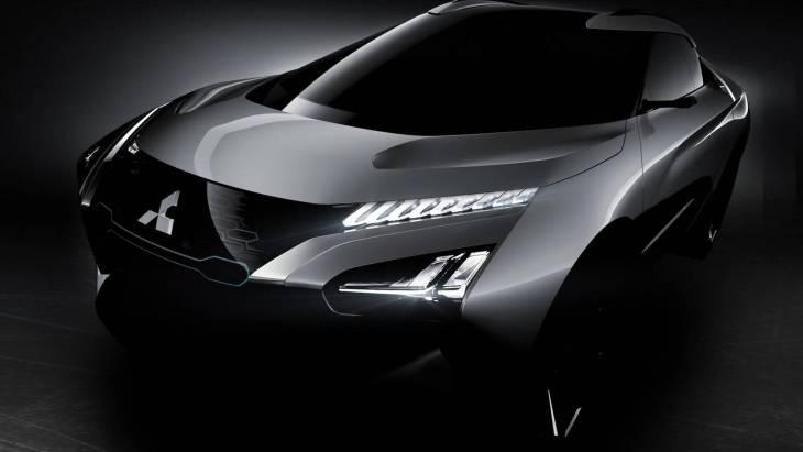 Mitsubishi e-Evolution: японці показали електричне крос-купе