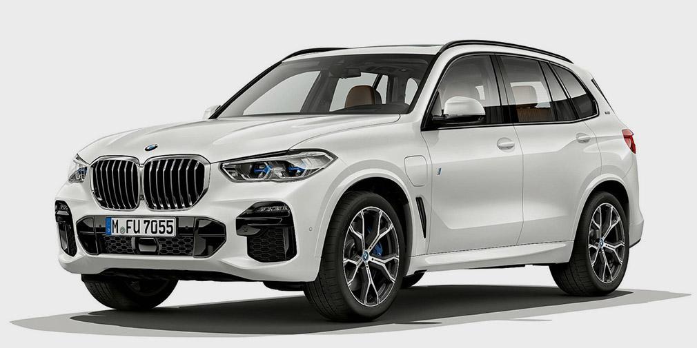 BMW X5 нового покоління перетворили в гібрид
