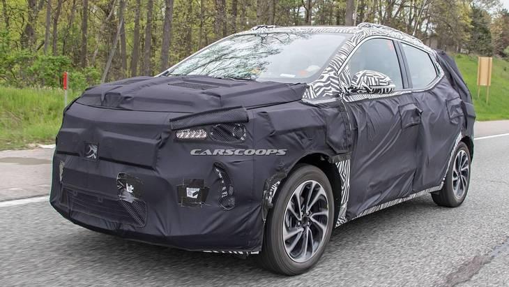 Chevrolet побудує електричний кросовер на базі Bolt