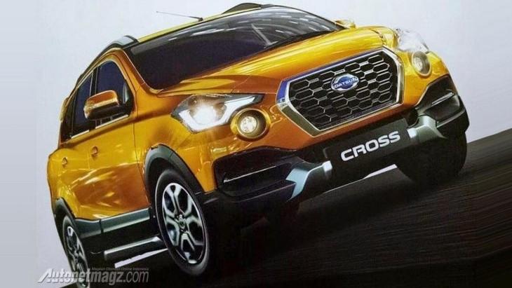 Кросовер Datsun Cross розсекретили раніше терміну
