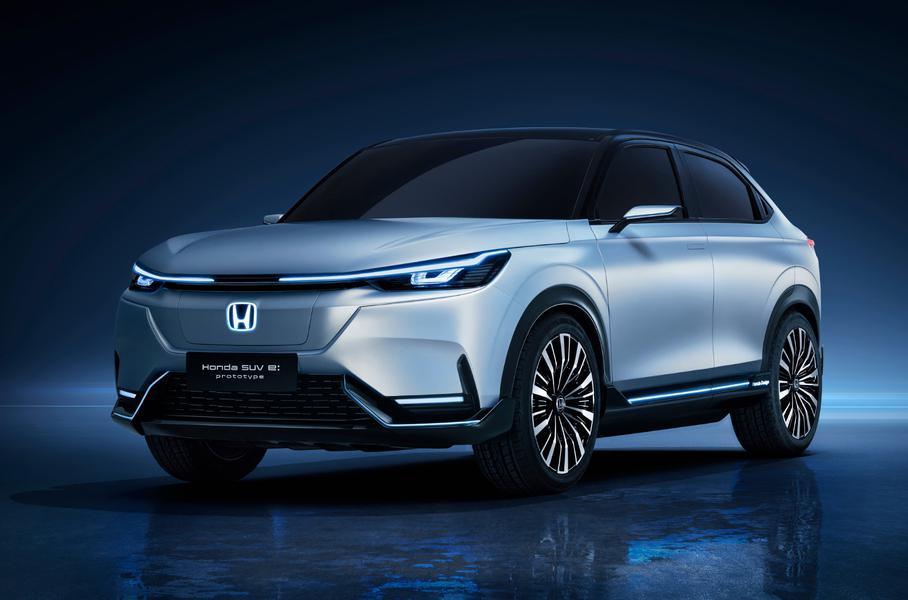 Honda показала новий електричний кросовер Honda SUV e