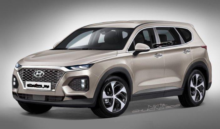 Новий Hyundai Santa Fe: «свіжі» зображення