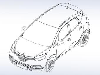 Кросовер Renault Clio: перші зображення