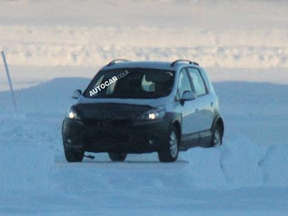 Кросовер Renault Scenic вже готовий